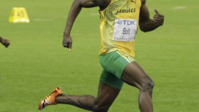 Jamaikas Sprint-Star Usain Bolt