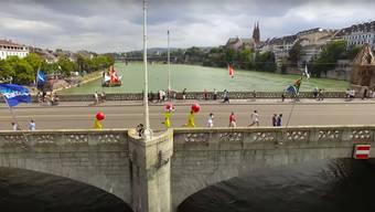 Erfreuliche Reaktionen auf den Youtube-Hit «Pokémon Go-The Revenge», der Basel ins Zentrum rückt.Screenshot