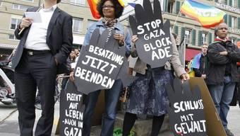 Demo auf dem Waisenhausplatz in Bern