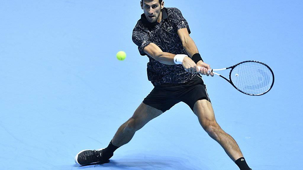 In London alles im Griff: Novak Djokovic