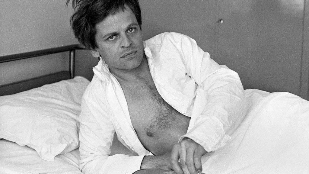 Ein Exzentriker: Heute vor 25 Jahren starb der deutsche Schauspieler Klaus Kinski allein in Kalifornien. (Archivbild)