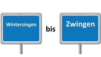 Wintersingen bis Zwingen