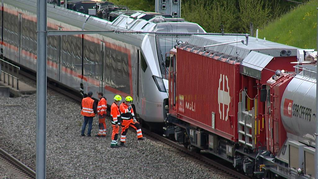 Rauchentwicklung an Zug führt zu Streckenunterbruch