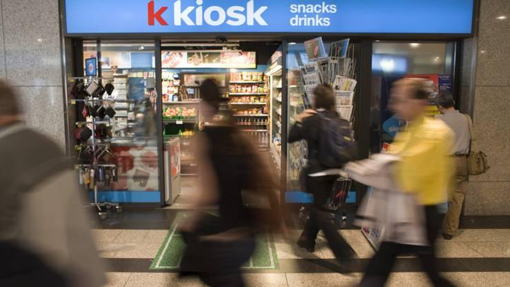 Valora betreibt in der Schweiz ein Netz von rund 900 Kiosken.