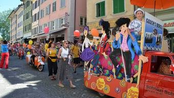 Schlagerwahnsinn und Reuss Food Festival in Bremgarten