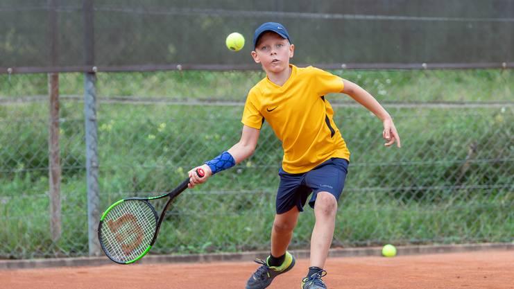 Bei den Jüngsten setzte sich ebenfalls die Turniernummer eins durch. Daniels Freimanis gewann in seiner Kategorie souverän.