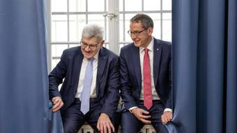 Roland Brogli und Urs Hofmann
