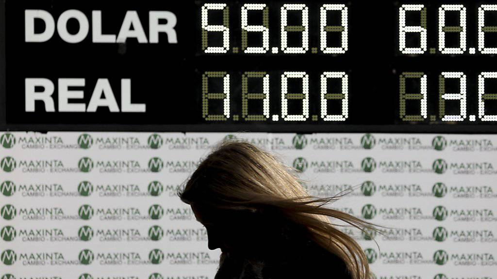 Auslöser der Turbulenzen an der Börse in Argentinien war ein klarer Sieg der Opposition bei einer wichtigen Testwahl am Wochenende gewesen, der die Furcht vor einer Staatspleite geschürt hatte. (Symbolbild)