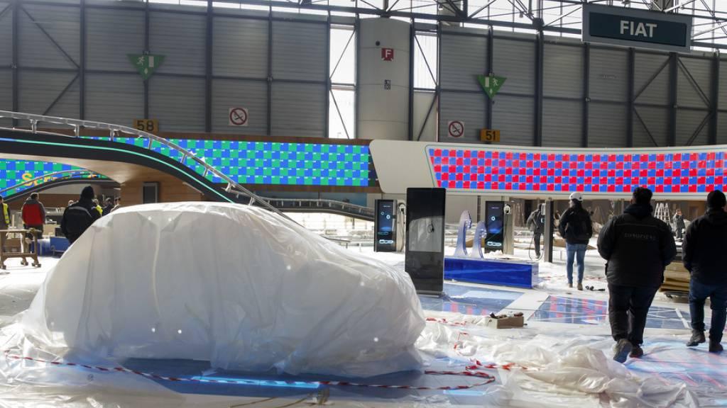 Wegen der Coronavirus-Krise musste der 90. Genfer Automobilsalon abgesagt werden. Für den Veranstalter und das Ausstellungszentrum bedeutet dies Millionenverluste. (Archivbild)