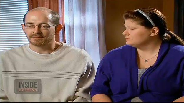 Deborah Bradley und Jeremy Irwin aus Kansas. Sie wollen die Eltern von Maria sein.