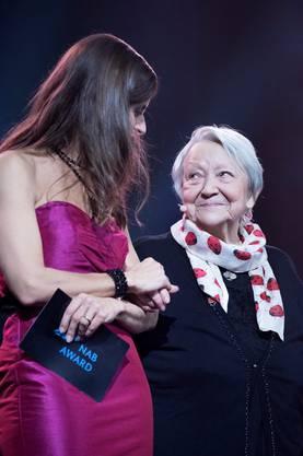 Sie wurde 2014 zur Aargauerin des Jahres gewählt: Irma Koch.