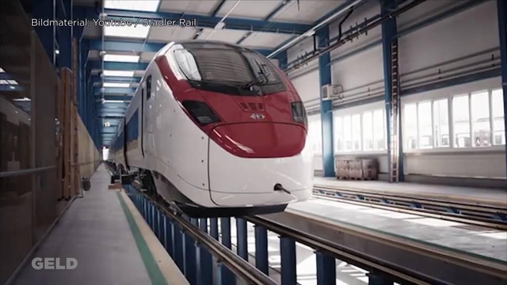 SBB Grossauftrag an Stadler Rail / Schweizer Wirtschaft schwächelt
