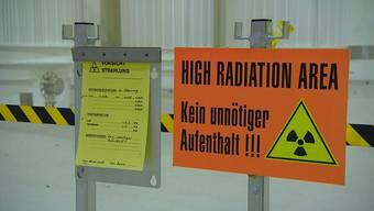 Im Zwischenlager Würenlingen wurden innert drei Monaten Hunderte Fässer voller Atommüll verarbeitet. (Archiv)