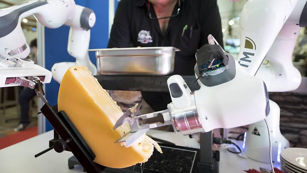 Künstliche Intelligenz versucht sich als Raclette-Schaber
