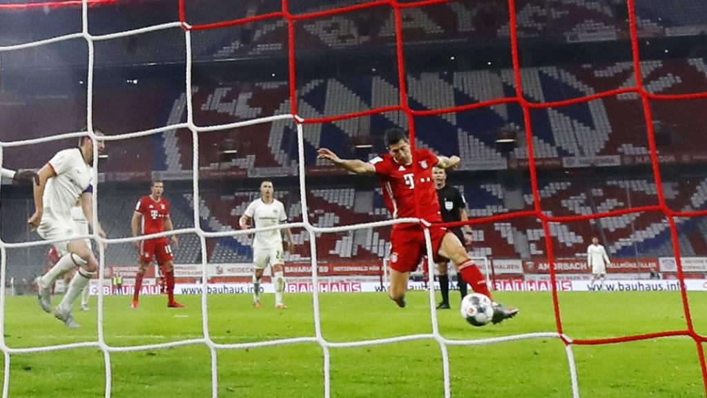 Bayern München folgt Leverkusen in den Cupfinal