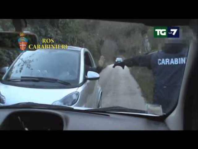 Mafia Capitale: hier sehen Sie die Bilder der Verhaftung von Massimo Carminati.