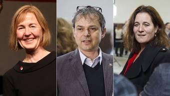 Susanne Schaffner, Philipp Hadorn und Franziska Roth sind mögliche Kandidaten.
