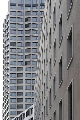 Der Limmat Tower kam von den 13 zur Auswahl stehenden Bauwerken am besten weg 64 Prozent der Teilnehmenden gefällt er.
