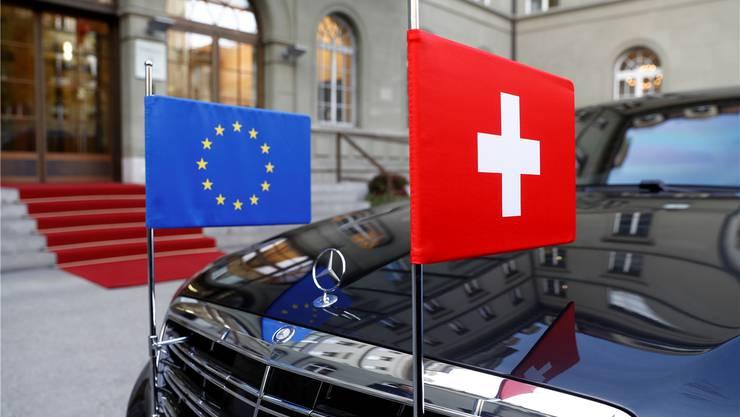 Der Streit über das Rahmenabkommen zwischen der Schweiz und der EU geht weiter.Peter Klaunzer/Keystone