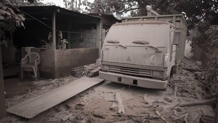 """Bilder des Grauens: In Guatemala ist der """"Vulkan des Feuers"""" ausgebrochen."""