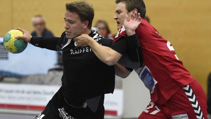 Der STV Baden verlor das Limmat-Derby gegen den HSG Siggenthal/LC vom Stein äusserst knapp (Archivbild).