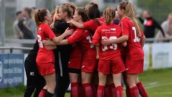 Die FC Aarau Frauen möchten in der neuen Saison den Aufstieg realisieren.