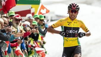 Der Ineos-Captain Egan Bernal war bisher der klar stärkste Fahrer an der Tour de Suisse