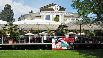Das Grand Casino Baden wirbt für ein Ja zum neuen Geldspielgesetz am 10. Juni.