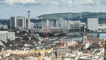 Blick auf den Novartis-Campus in Basel: Die Stadt und die Region hängen gleichermassen an den Life-Science-Multis.