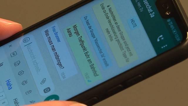 Warum sind WhatsApp-Nachrichten zwischen Lehrern und Eltern verboten?