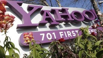 Der Internet-Konzern Yahoo schwächelt (Archiv)