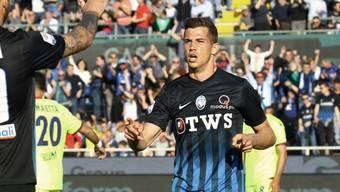 Remo Freuler erzielt einen Treffer gegen Benevento