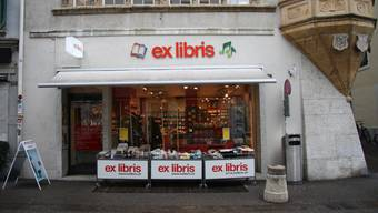 Ex Libris gibt den Solothurner Standort an der Hauptgasse 33 im Januar auf.