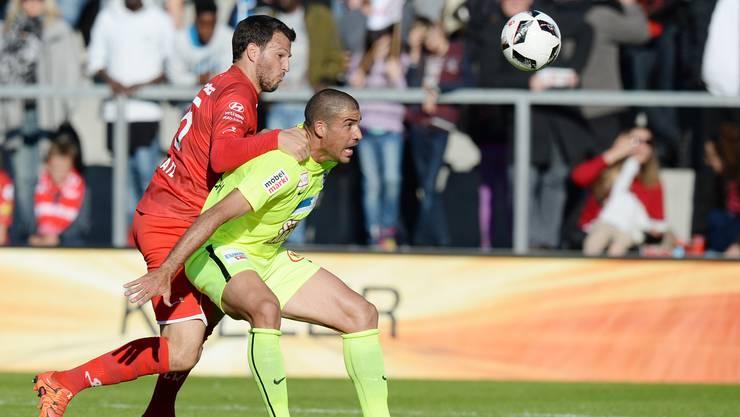 Alessandro Ciarrochi holt sich gegen Winterthur die beste Note ab.