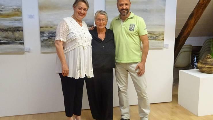 vl. Sara Capretti, Marlen Hofer, Raymond Bieri