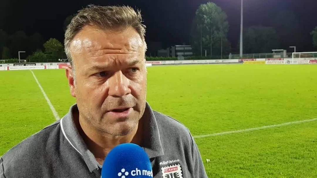 FCA-Trainer Patrick Rahmen im Videointerview nach der Pleite gegen Chiasso