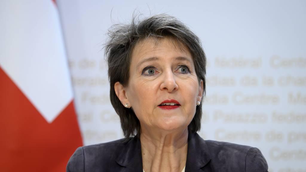 Simonetta Sommaruga: «Ich glaube, die Schweiz musste ihren eigenen Weg gehen»