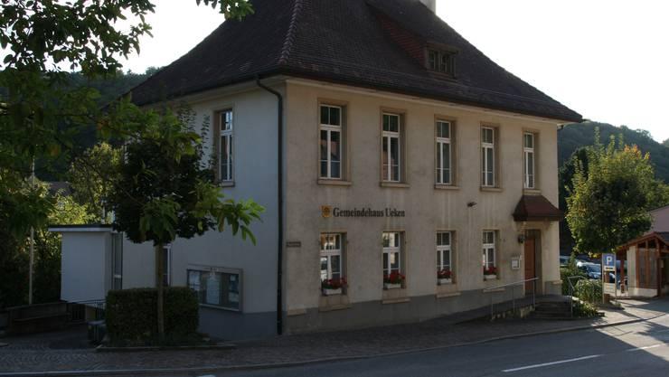 Ist bald leer: das Ueker Gemeindehaus. (Archivbild)