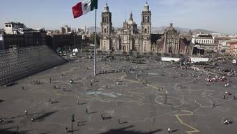 Die Notenbank Mexikos hat am Donnerstag ihren Leitzins gesenkt, weil die Inflation geringer geworden ist und die Konjunktur schwächer tendiert. (Symbolbild)