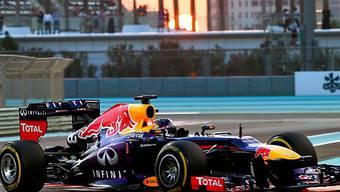 Auch in Abu Dhabi nicht zu stoppen: Sebastian Vettel
