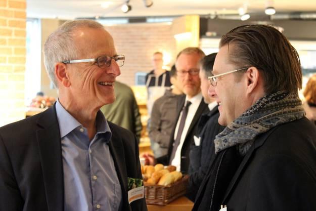 Dieter Pestalozzi und Josef Wiederkehr