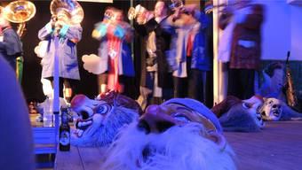 Die Basler Gugge Schlafwandler begeisterte mit ihrem Auftritt