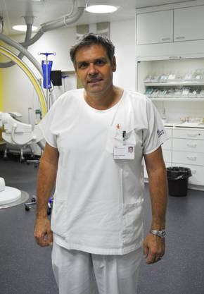 Kardiologie-Chefarzt Rolf Vogel