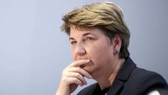 Bisher auf der Erfolgswelle: Viola Amherd, die erste Verteidigungsministerin der Schweiz.