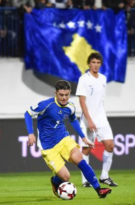 Kosovos Kapitän Milot Rashica.