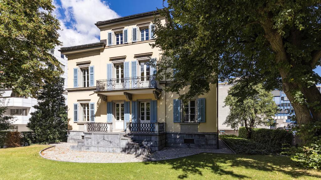 Wohnen wie im Schloss: Churer Villa steht zum Verkauf