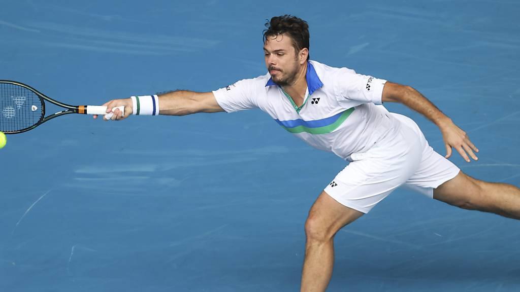 Stan Wawrinka eröffnet Australian Open mit Blitzsieg