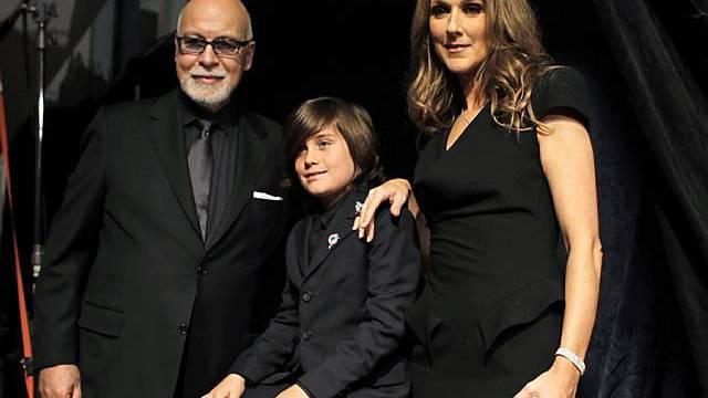 Sind bald zu fünft: Celine Dion und Familie