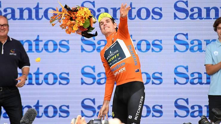33 Jahre alt, aus Südafrika, fährt für das australische Team Mitchelton-Scott: Daryl Impey, der neue Gesamtführende der Tour Down Under