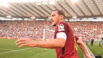 Francesco Totti erklärt seinen Rücktritt